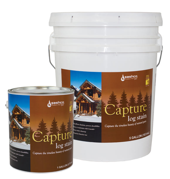 Capture Log Home Stain