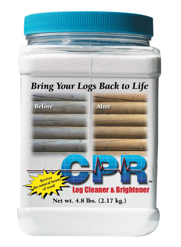 CPR Log Home Cleaner