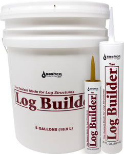 Log Builder Caulking for Log Homes
