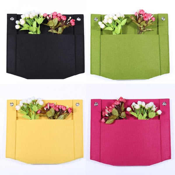 1 Pockets Hanging Flower
