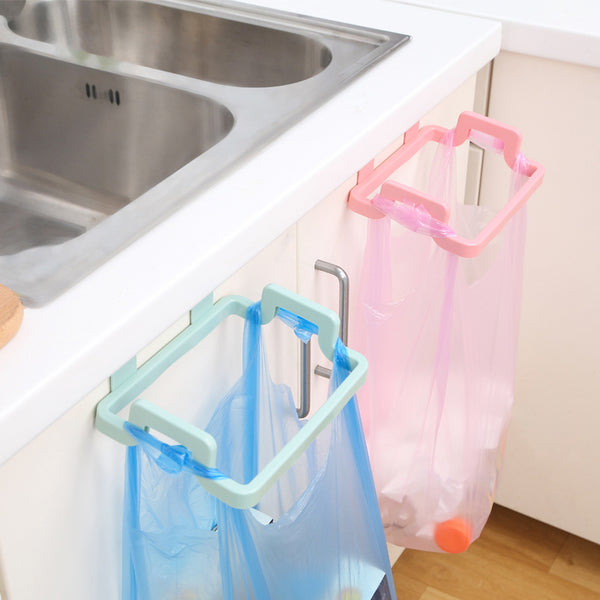 1pcs Hanging Trash Rubbish Bag Holder