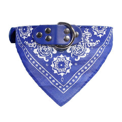 Lovely Printed Pet Dog Triangular Scarf Collar