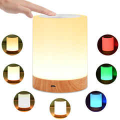 Touch Lamp Night Light Rechargeable