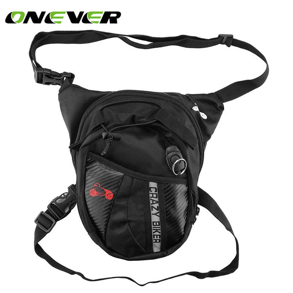 Car Storage Bag Multi-functional Canvas Motorcycle Tactical Fanny Pack Outdoor Riding Hip Leg Bag Waist Pack
