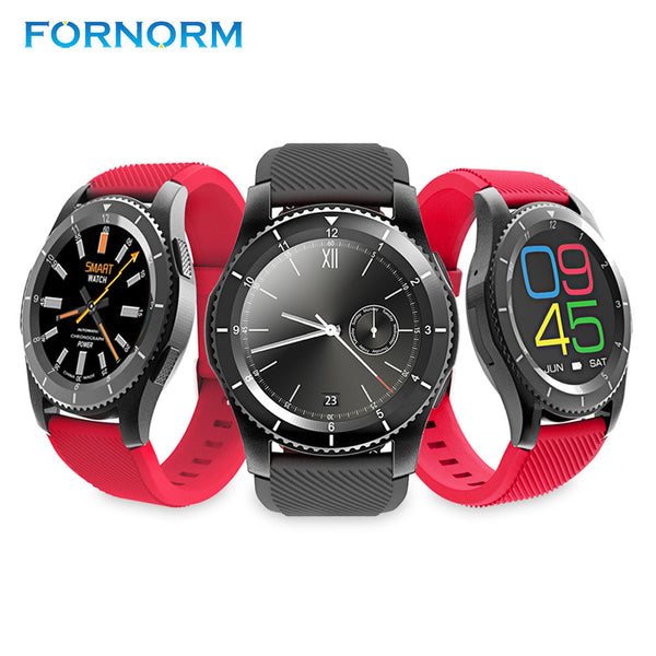 FORNORM Smart Watch 3 Mode Bluetooth Smart Wrist Sport Bracelet Phone Clock Passometer With SIM Card Heart Rate Blood Pressure