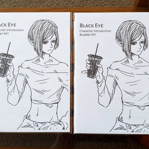 BLACK EYE Zines