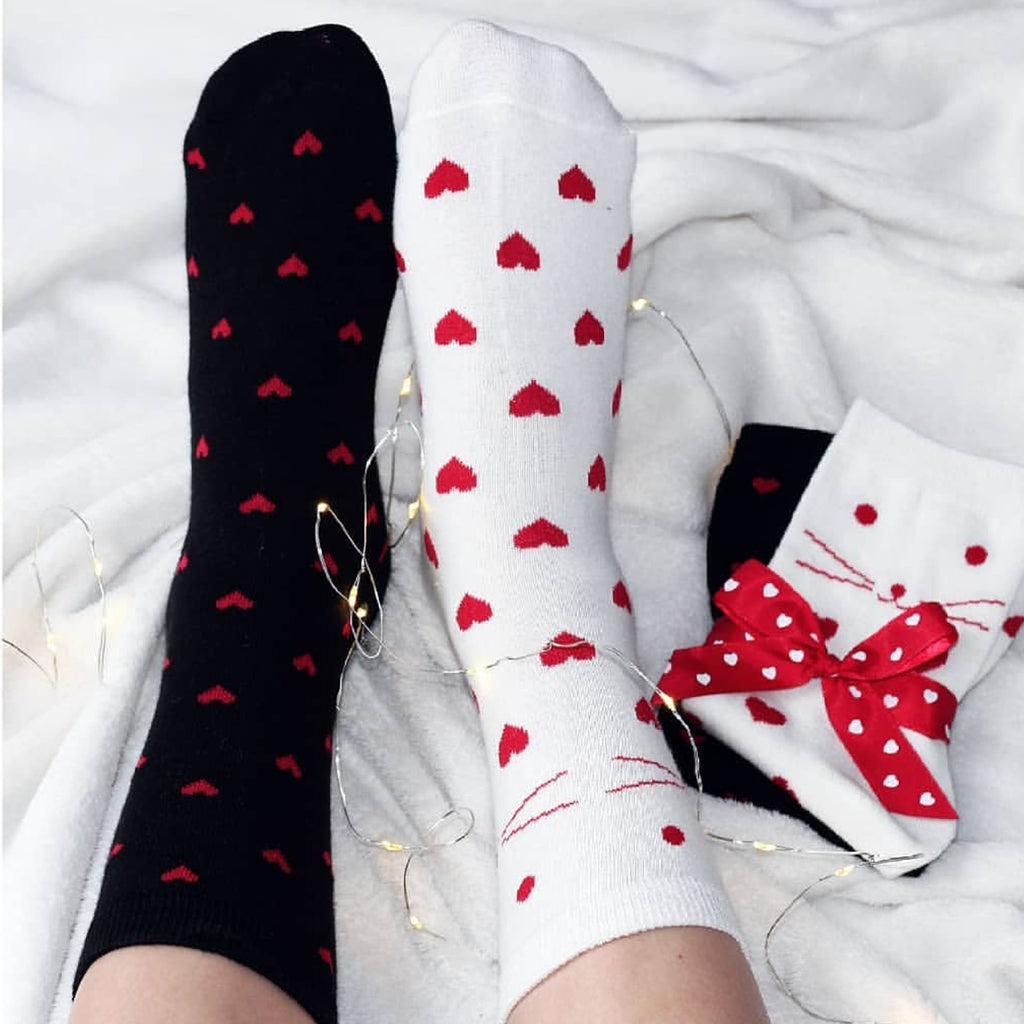 Valentine's Day Socks for Your Sole Mate 💕