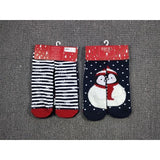 ⛄ 2 Pack Women's Christmas Characters Socks-Snazzy Socks