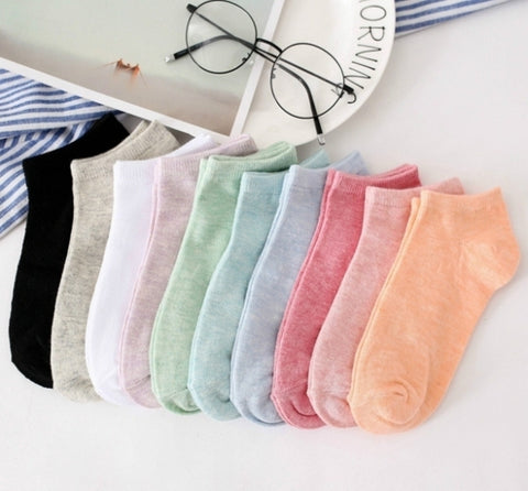 Women's Cotton Low Show Socks