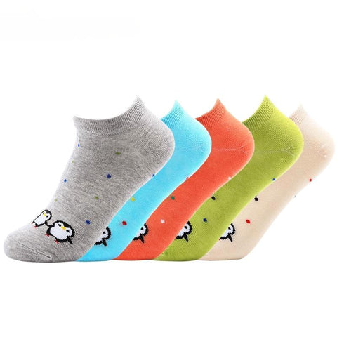 Women's Penguin Socks -Snazzy Socks