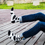 🐄 Cow Print Socks, 5 Awesome Colors, Men/Women's (Pair)-Snazzy Socks