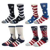 USA Socks, 7 Variations-Snazzy Socks