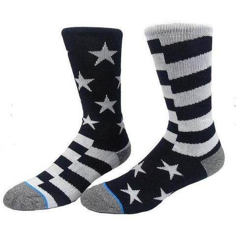 🇺🇸 For the Patriotic Man, USA Sock, 7 Variations-Snazzy Socks