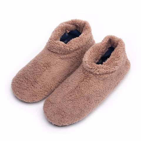 Men's Warm Winter, Soft Bottom Furry Slippers, 4 Colors-Snazzy Socks