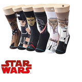 ☄️ Men's/Boy's STAR WARS Socks, One Size 6-10-Snazzy Socks