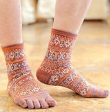 Toe Socks Orange