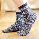 Toe Socks Black