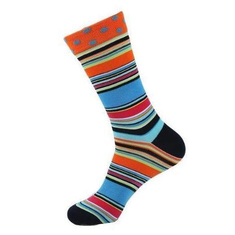 Men/Women's Sock of Many Colors, Size 7-12-Snazzy Socks