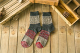 Men's Vintage, Retro Knitted Socks