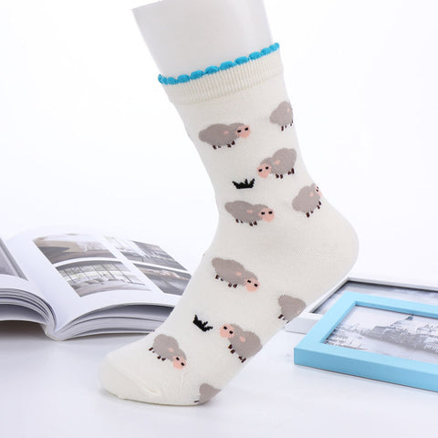 Sheep Socks White