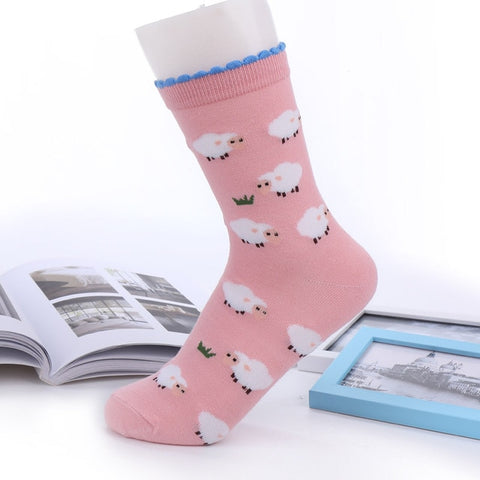 Sheep Socks Pink