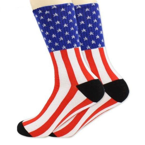Women's American Flag Socks