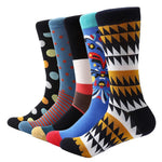 Crazy dress socks, 5 pack