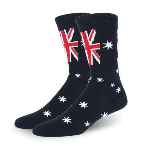 Australian Flag Socks