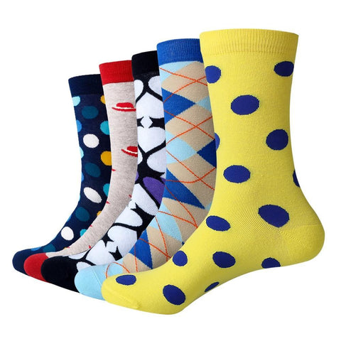 Men's dress socks, 5 pack