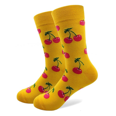 Cherry Fruit Socks
