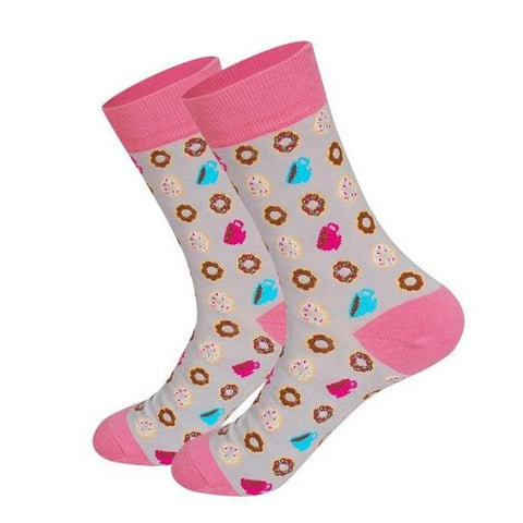 Cupcake and donuts socks