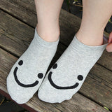😊 Women's Cute Smiley Face Socks, 5 Colors