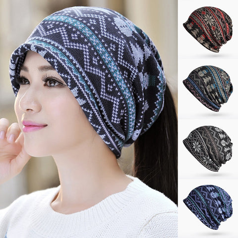 Ponytail Hat and Scarf