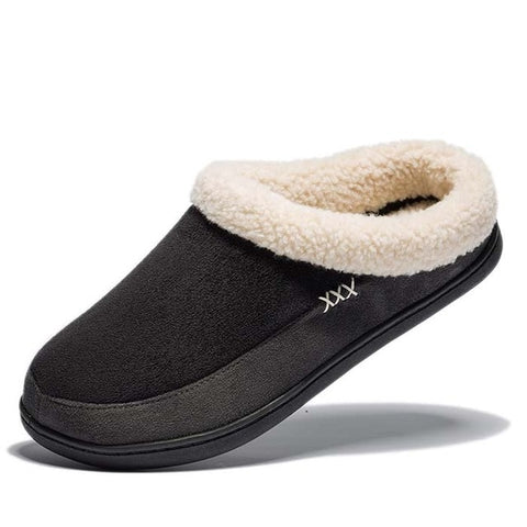 Men's Plush Warm House Slippers, Multiple Colors