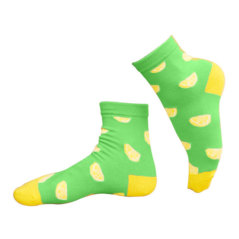 Lemon Lime Fruit Socks