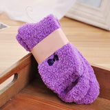 Fuzzy Fleece Socks