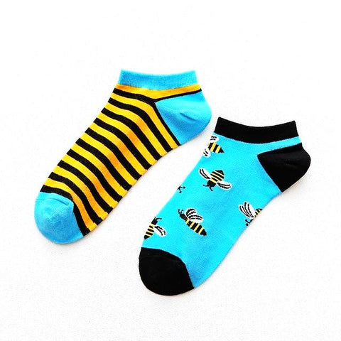 Bumble Bee Ankle Socks