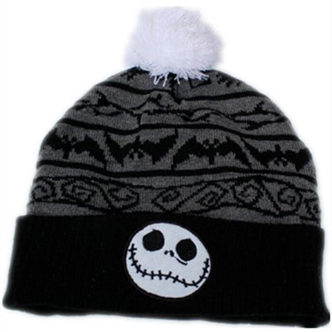 The Night Before Christmas Jack Skellington Beanie Hat (Small)-Snazzy Socks