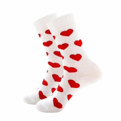 💕 Valentine's Day Heart Socks for Women, Size 5-10-Snazzy Socks
