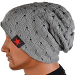 Warm Winter Knit Beanie, Unisex, 6 Colors-Snazzy Socks