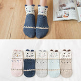 💕 Women/Girls Cotton Heart, Love Socks, 5 Pairs-Snazzy Socks
