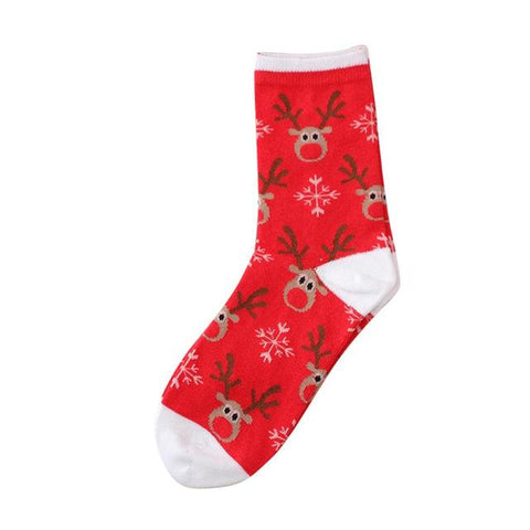 🦌 Women's Comfy Christmas Holiday Socks, 9 Design/Colors-Snazzy Socks