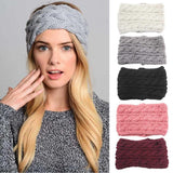 Women's Ear Warmer Headband, 9 Solid Colors-Snazzy Socks