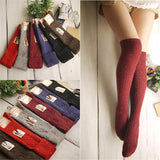 Women's Knee Socks, Winter Boot Socks, 4 Colors-Snazzy Socks