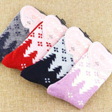 ❄ Women's Wool Blend Snowflake Socks, 5 Colors-Snazzy Socks