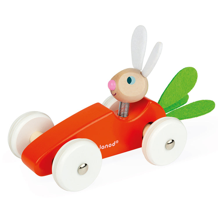 Janod Rabbit Carrot Car