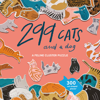 299 Cats and a dog