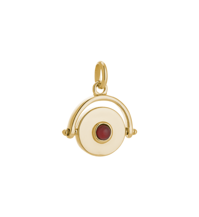 Protection Spinner 18k Gold Vermeil