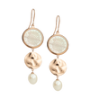 By the Sea Earrings 18k Rose Gold Plated