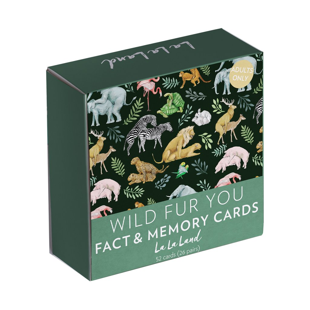 Adult Memory Cards Wild Fur You